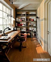home office in garage. love the idea for a long skinny room huge window u0026 desk doesnu0027t hurt that lighting is gorgeous 33 crazy cool home inspirations office in garage e