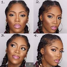 tiwa savage looks gorgeous in cornrows check out her diffe makeup looks wedding digest