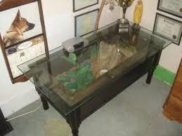 sand table with cover classic furniture terrarium coffee table design gray ceramic floor laminate black wooden