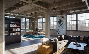 ideas elegant grey windows frame of loft architecture plans can be combined with black coffee table