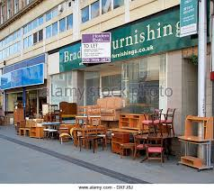 used second hand furniture on sale on a uk high street dxfj8j