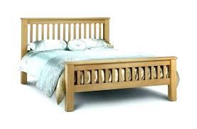 wood bed frame king – libelula.info