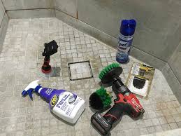 cleaning bathroom tile. Simple Bathroom Cleaning Bathroom Shower Tile U0026 Tub With A Power Drill Brush For O