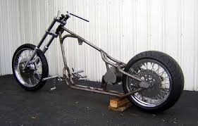 old school rigid harley triumph ironhead xl sportster chopper