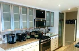 frameless glass cabinet doors s decorating glass cabinet doors kitchen