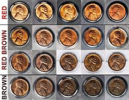 What Color Is Your Copper Coin Grading Them