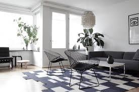black white living room. 11 Black And White Living Room Interior Design Ideas