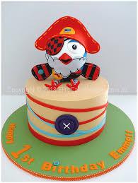 Pirate Hootbeard Kids Birthday Cake By Elitecakedesigns Sydney