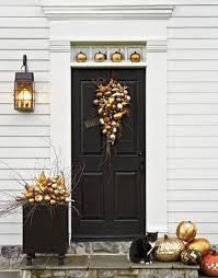 Farrow Simplified Bee Fall Front Door Ideas Perfect For Halloween Too