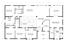 The Tradewinds Is A Beautiful 4 Bedroom 2 Bath Triple Wide Manufactured Home Designs