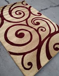 awesome red and tan rug beige designs