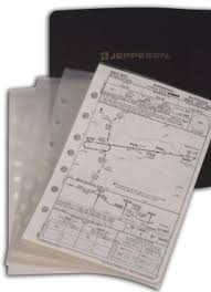 Jeppesen Approach Chart Protector Set Of 10