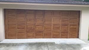 fake wood garage doors faux wood garage doors before hardware