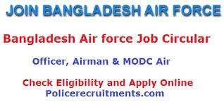Bangladesh Air Force Job Circular 2020 Current Jobs In Baf
