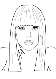 lady gaga coloring pages. Fine Gaga Lady Gaga Coloring Pages For Kids Printable Free Books   Coloing4kidscom For Coloring Pages O