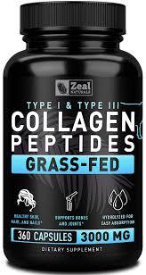 <b>Pure Collagen</b> Peptides <b>Collagen</b> Pills (360 Capsules) 100% <b>Grass</b> ...