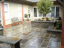 Seating Wall Blocks Paver Patios With Lighting Raised Patio Seat Wall Landscape