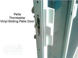 sliding door adjustment glass lock designs patio hinge pella doors problems