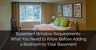 basement window requirements what you