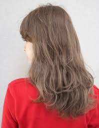 透け感ベージュ11トーンhy 71 ヘアカタログ髪型ヘアスタイル