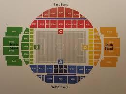 Ekaterinburg Arena Seating Chart Russia 2018 Stadium Seating Plans Bigsoccer Forum