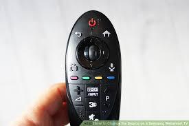 samsung smart tv remote 2014. image titled change the source on a samsung websmart tv step 1 smart tv remote 2014 e