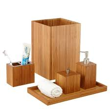 White Wooden Bathroom Accessories Bamboo Bath Hand Vanity Set Bathroom Accessories Seville Wood