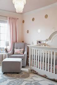 Light Pink Baby Girl Nursery Pink Grey And Gold Glamorous Girls Nursery Its A Pretty