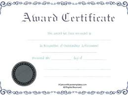 Prize Certificate Template Free New Prize Certificates Templates