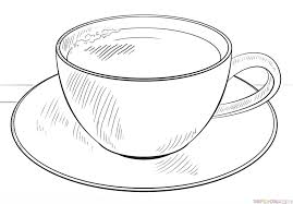 Cup of coffee drawing tutorial. How To Draw A Cup Of Coffee Step By Step Drawing Tutorials Drawing Tutorial Tea Cup Drawing Drawing Cup