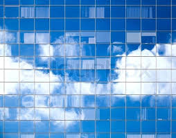 office glass windows. Interesting Windows Glass Building Texture Abstract Background With Bright Clouds  Reflected In Windows Of Modern Office Stock Photo Window  Throughout