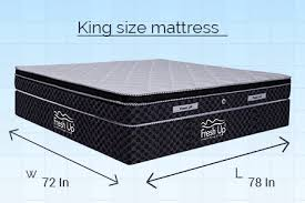 Mattress Size Chart Dimensions In India Choose The Right