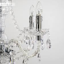 Kronleuchter Aus Acryl Klar Klassische Hängeleuchte Für Esszimmer