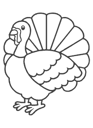 Small Picture Printable Turkey Coloring Pages And For Preschoolers creativemoveme
