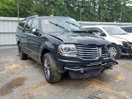2016 lincoln navigator left front view lot 35108609