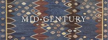 mid century rugs