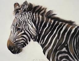 zebras painting zebra by odile kidd