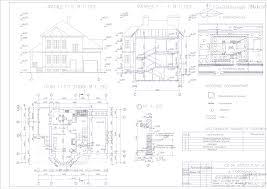 Курсовые и дипломные проекты коттеджи дачи скачать котедж в dwg  Дипломный проект колледж Двухэтажный четырехкомнатный жилой дом 15 х 12 м со встроенным