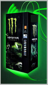 Monster Vending Machines Stunning Monster Energy Soda Machine Completely Refurbished Machine Dixie