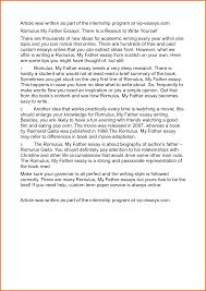 Essay on leadership potential