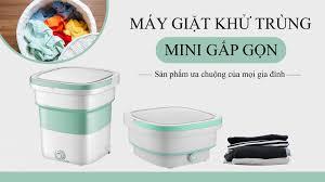 Máy Giặt Mini Gấp Gọn - Xả Nước - Vắt Khô - Home