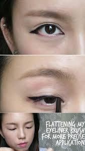 best korean makeup tutorials k pop inspired korean style eyeliner tutorial natural step