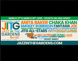 2018 jazz in the gardens fest lineup features joe anita baker more