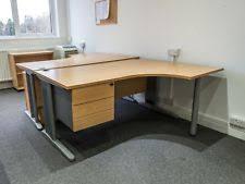 curved office desk. Right Hand L-Shape Corner Desk 1600mm X 1200mm | Curved Radial Office
