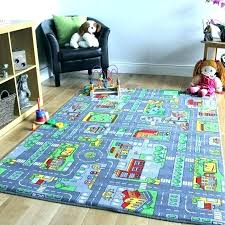 kids car play rug rugs road map carpet children s mat toy for cars area city