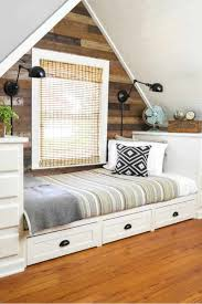 built in bed using kitchen cabinets