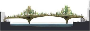 Small Picture Designer Shows Proposed Garden Bridge Set To Go Across the Thames
