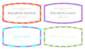Create A Coupon Template Free Make Your Own T Coupons W I Don