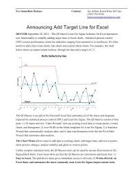Qi Charts Add Target Lines To Control Charts Qi Macros For Excel