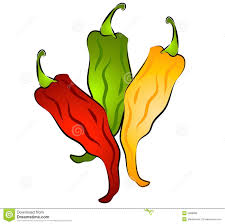 Clip Are Hot Chili Peppers Clip Art Stock Illustration Illustration Of